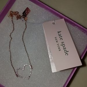 Kate Spade New York heart dainty bracelet.